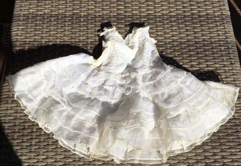Vintage Baby Girl 12 months Crinoline Petticoat Full Slip use for Dolls