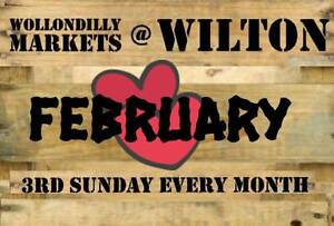 Wollondilly Markets at Wilton - Feb 19th Wilton Wollondilly Area Preview