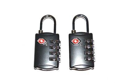 Pelican Tsa Lock - Fits your Pelican Case 2 new TSA Traditional Hardshackle 4 dial combination Lock