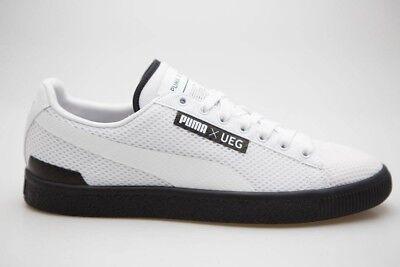 $109.99 Puma x UEG Men Court white black 361496-02