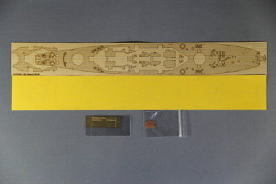 Artwox 1/700 USS Missouri BB-63 Wooden Deck w/Mask Photoetch for Tamiya 31613