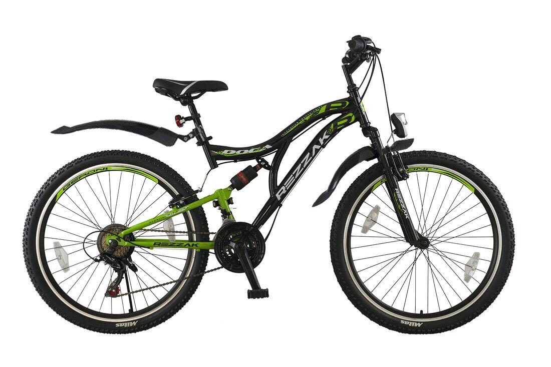 24 Zoll Kinder Jungen Jugend Fahrrad MTB Mountainbike Bike Rad-055