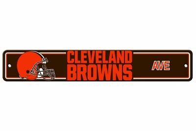 New NFL Cleveland Browns Home Decor AVE Street Sign 24