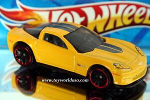 2014-Hot-Wheels-Multi-Pack-exclusive-12-Chevy-Corvette-Z06-yellow