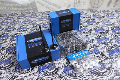 Supertech - Valves - 95lb Dual Springs - Ti Retainers - Honda S2000 F20C F22C