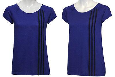 Climalite Performance T-shirt (ADIDAS ESS Performance ClimaLite Cotton Basic T-Shirt Shirt lila XS - 164 - 176)