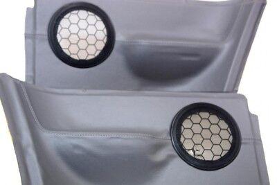 Rear Insert Door Panel Synthetic Leather for Volkswagen Beetle 98-06 Gray