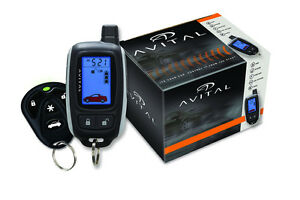 Avital 5303 2 Way Remote Start Car Alarm Pager Security System Viper Keyless DEI