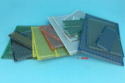 6-color Double Side Prototype Board Perforated 2.54mm Plated Through Hole