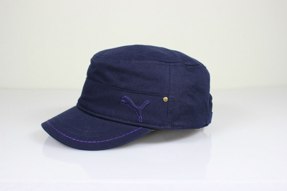 PUMA Unisex Tempo Military Cap Mütze blau Baumwolle Dry Cell, Herren, Damen