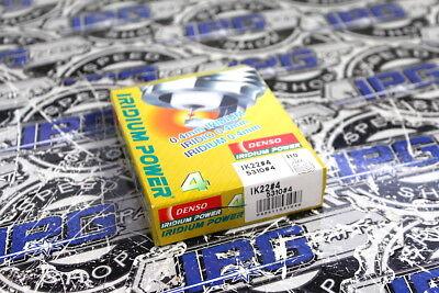 Denso Iridium IK22 Spark Plugs Set of 4 (5310) Heat Range 7 Equivalent Denso Spark Plug Heat Range