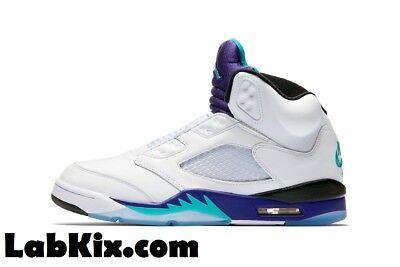 Nike Jordan 5 V Retro NRG SZ 8-14 Fresh Prince of Bel Air Grape OG AV3919-135