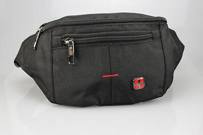 Große Business-tasche (Große Robuste Gürteltasche von New Bag Business Bauchtasche 25 x 14 x 9 schwarz)
