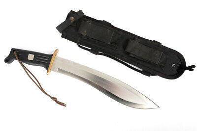Original Vintage Al Mar Kukri Pathfinder Made In Seki Japan W/ Sheath
