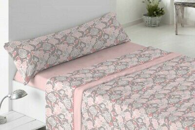 Burrito Blanco juego de sabanas de invierno de nacarina cama 135 rosa