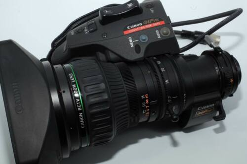 """Canon J17EX7.7B4 IRS SX12  2/3"""" with 2x extender Zoom Lens"""
