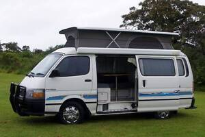Toyota Automatic Frontline Campervan with A/C & Rear Shower Albion Park Rail Shellharbour Area Preview