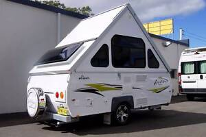 2015 Avan Aliner Caravan with Solar, Hot Water & Air Conditioning Albion Park Rail Shellharbour Area Preview