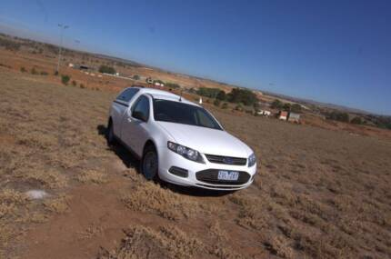 2012 Ford Falcon ute EcoLPi FG MK11 with canopy Bacchus Marsh Moorabool Area Preview