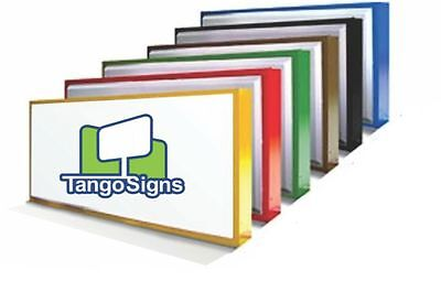 New Single-sided 4x6 Lighted Outdoor Business Box Retail Sign Custom Commercial