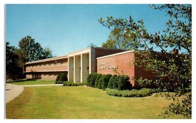 Mississippi State University Alumni - 1960s Alumni Student Building, Mississippi State University Postcard