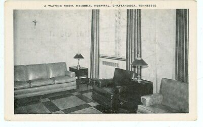 Chattanooga, Tennessee, A Waiting Room, Memorial Hospital (ChattanoogaTN93