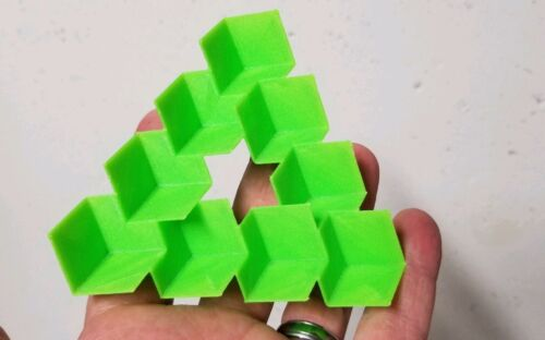 3D Printed Penrose Triangle Illusion