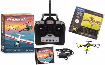 Phoenix 5 - Pro Radio Control Flight Sim + Blade Nano QX Drone