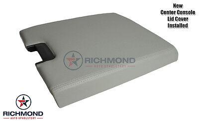 2011 2012 Chevy Silverado 1500 2500 3500 HD LT LS -Center Console Lid Cover Gray
