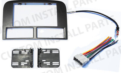 02-2004 Jeep Grand Cherokee Double Din Radio Stereo Install Dash Kit Matte Black, used for sale  Land O' Lakes