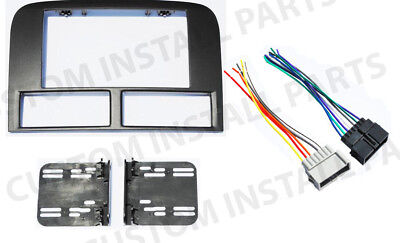 Double Din Radio Stereo Navigation Bezel Dash Kit Fits Jeep Grand Cherokee 99-01 for sale  Land O' Lakes