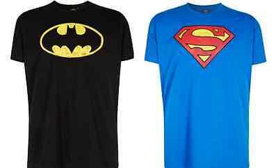 Neu Marvel Superman o. Batman - Herren T-Shirt Baumwolle - Gr. 3XL