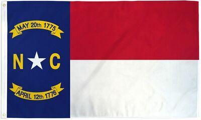 3x5 North Carolina Flag NC State Banner Pennant Indoor Outdoor New 3 x 5 Foot - North Carolina Outdoor State Flag