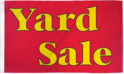 Yard Sale Flag 3x5ft Yard Sale Banner Sign Garage Sale Rummage Sale Here
