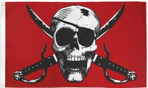 CRIMSON PIRATE Flag 3