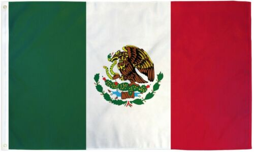 4x6 Ft Mexico Country Flag Mexican National Polyester f