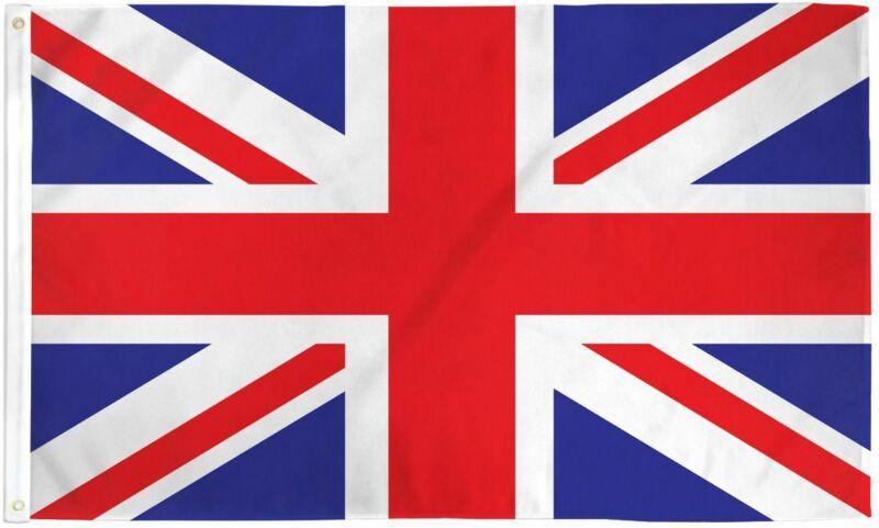 3x5 British Flag UK United Kingdom Banner Britain Union Jack Pennant New Outdoor
