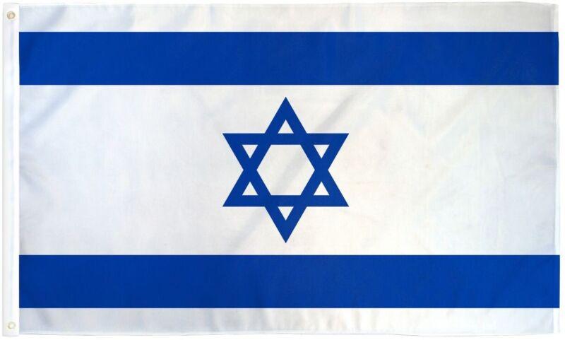 Israel 3'x5' Flag / Bandera De Israel 3'x5 (incluye Regalito Sorpresa)