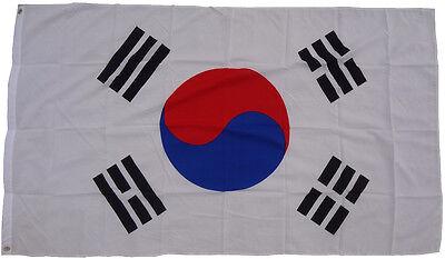 XXL Südkorea Flagge 250 x 150 cm Fahne Sturmflagge Hissfahne Hissflagge WM Korea