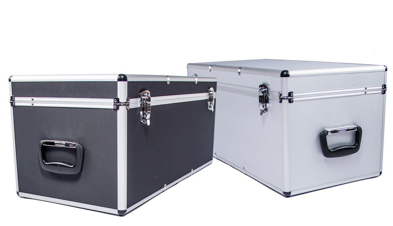 Alukoffer Alukiste Werkzeugkiste Lagerkiste Transportkoffer Transportbox 67L
