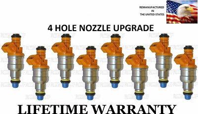 *BEST UPGRADE* Genuine Bosch Set Of 8 Fuel Injectors For BMW 3.0L 4.0L