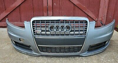 2005 2006 2007 2008 Audi A6 S6 front bumper cover grill Fog Lights 05-08 OEM