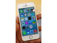 Apple Iphone 5S - White and Gold - 16GB - EE