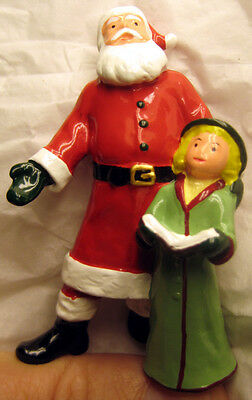 Girl Caroling w/ Santa - New Barclay Production