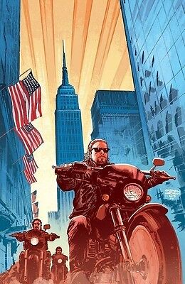 Boom  Studios 2013 Nycc Sons Of Anarchy  1 Exclusive Variant Cover  Sold Out