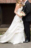 Beautiful Wedding dress, just like new!!