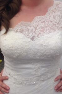 NEW Wedding Lace Wedding Gown