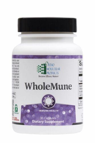 Ortho Molecular Wholemune 30 Capsules Exp. 4/22 FRESH & FAST!