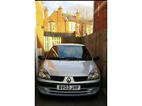 Renault Clio 1.2 silver