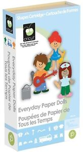 Cricut Cartridge EVERYDAY PAPER DOLLS Pets Household Items Vehicles NEW & SEALED